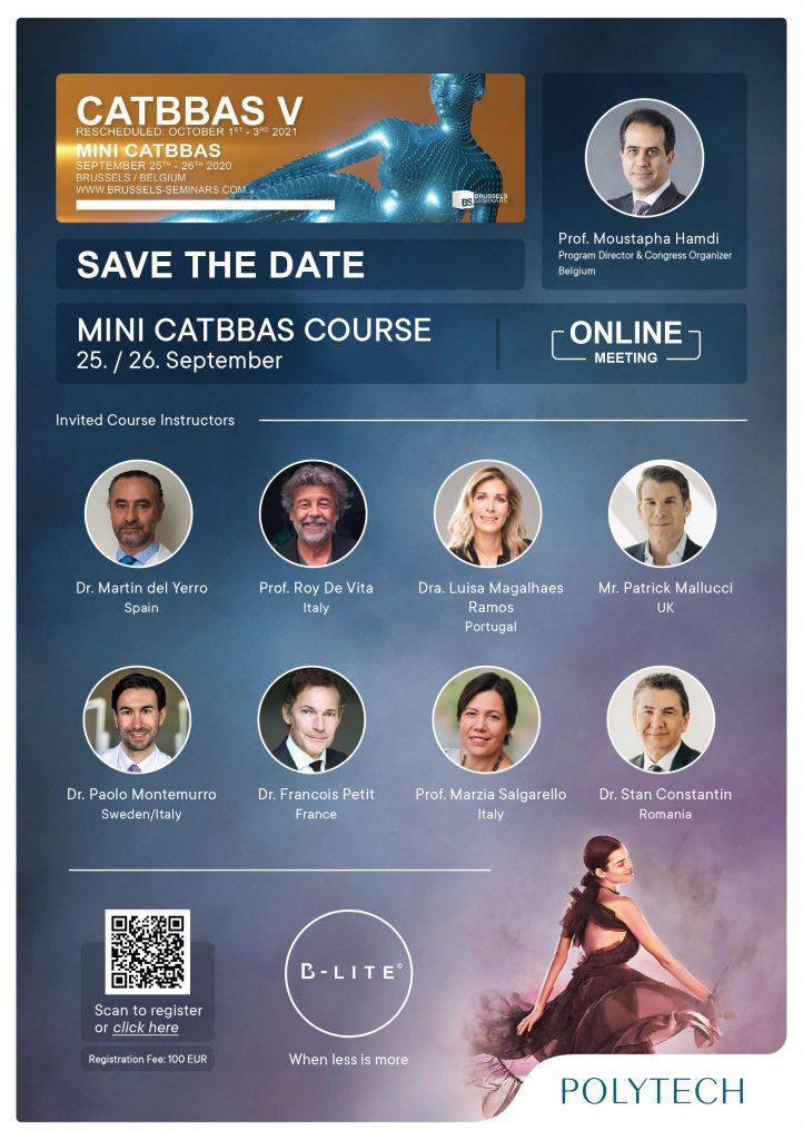 Mini Catbbas Course 25./26. September 2020, Online Meeting